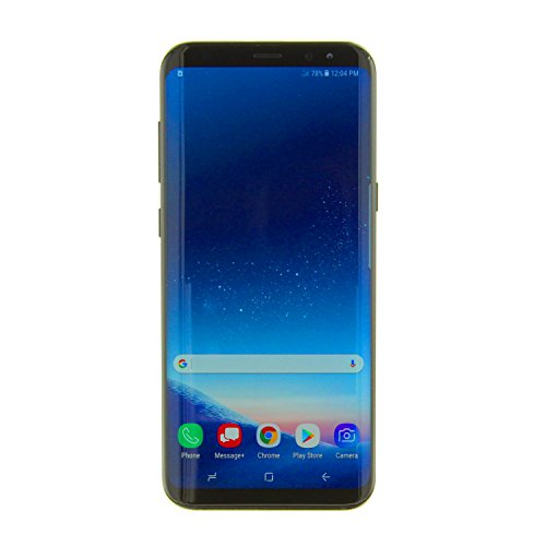 Samsung Galaxy S8 (G950u GSM only) 5.8″ Unlocked Smartphone for All GSM Carriers – Midnight Black (Renewed)