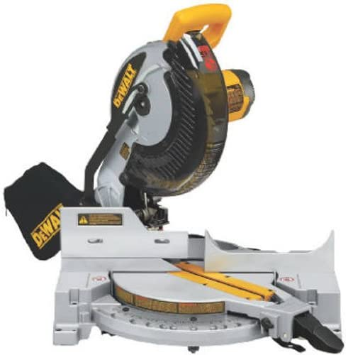 1. DEWALT DW713 15 Amp 10-Inch Compound Miter Saw
