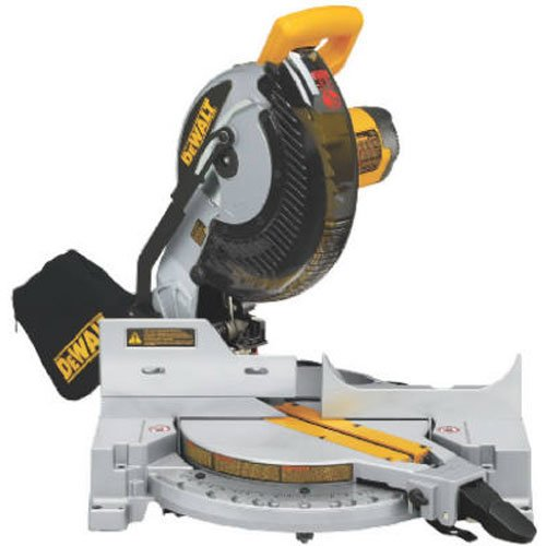 DEWALT DW713 10 in. Portable Compound Miter Saw (Best Miter Saw Laser Guide)