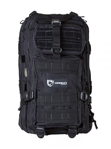 78036d354936 Amazon.com   Drago Gear DRA14301BL Tracker Backpack Black   Tactical ...
