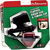 Fluidmaster 555CRP8 Flusher Fixer® Flapper, Drain Seat & Timing Cup