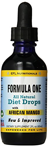 EFL Nutritionals New and Improved Formula Supplement, African Mango, 2 Fluid Ounce