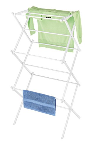 Whitmor Collapsible Drying Rack, White