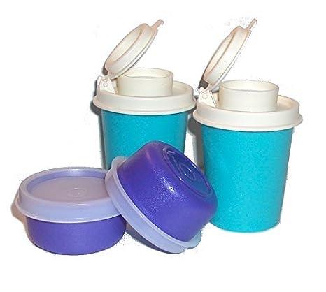 Amazoncom Tupperware Midgets And Smidgets Tiny Bowls Mini Salt And