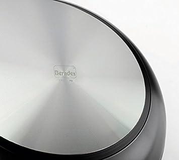 Berndes Alu Specials Smart Kochtopf mit Glasdeckel 20 cm Casseruola con Coperchio Beige Alluminio Forgiato