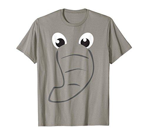 Elephant Face Shirt Cute Kids Halloween Costume Animal Gift