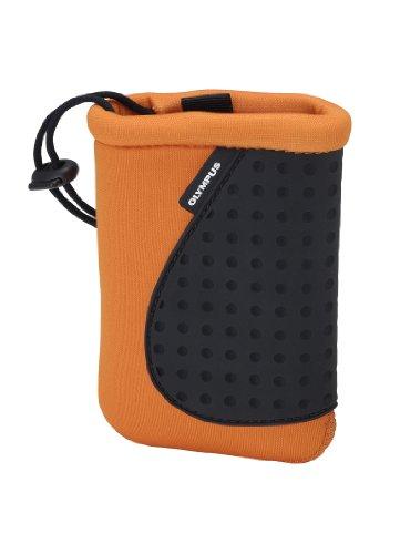 Olympus CSCH-70 Kameratasche (Neopren) für Mju-Tough Digitalkameras orange