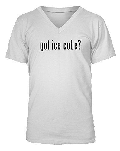 got ice cube? Adult Men's V-neck T-Shirt - Various sizes & colors!, White, XXX-Large