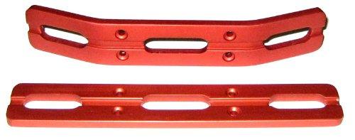 - RC Raven T-Maxx and E-Maxx Red Anodized Aluminum Bumper Set
