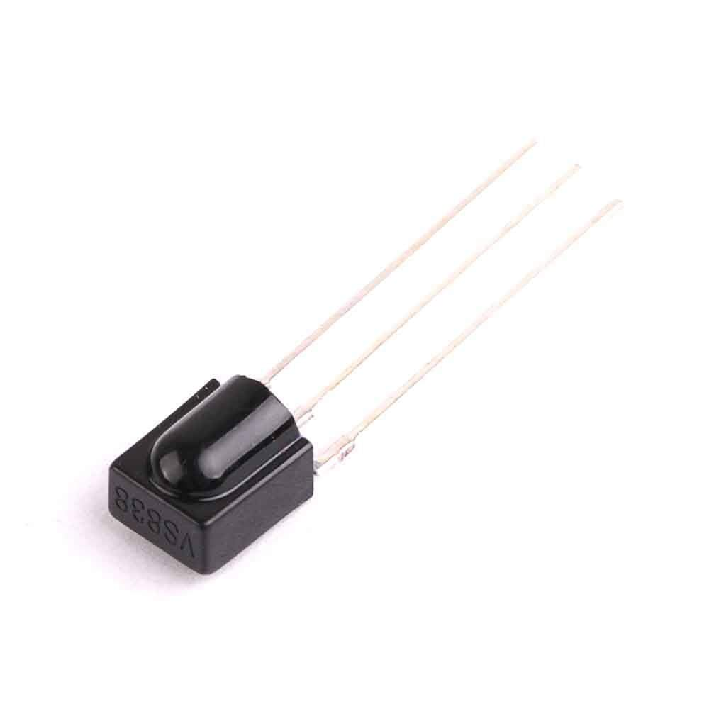 10PCS Reception Distance 15M Infrared VS838 Receiver Modules 38KHZ Integrated Infrared Receiving Head