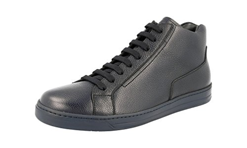 Prada Mens 4t2998 Läder Sneaker