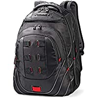 Samsonite 86352 Leviathan Laptop Backpack, Black/red, 50 Centimeters
