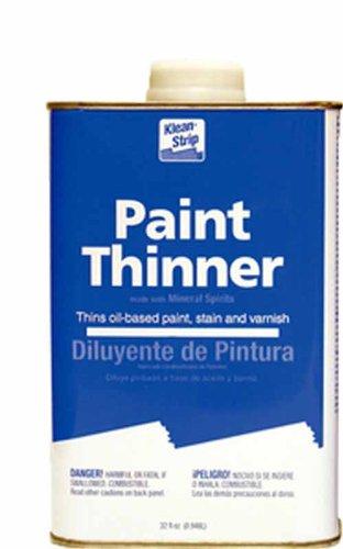 Klean Strip Paint Thinner - Klean Strip Paint Thinner 1qt QKPT94003