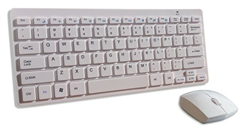 white-wireless-mini-qwerty-keyboard-mouse-for-kogan-kuled32smtwa-32-loewe-xelos-40-logik-l26hed12-on