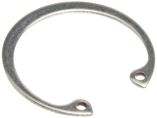 Standard Internal Retaining Ring, Tapered Section, PH15-7 Stainless Steel, Passivated Finish, 1-7/8'' Bore Diameter, 0.062'' Thick, Made in US (Pack of 5) by Small Parts