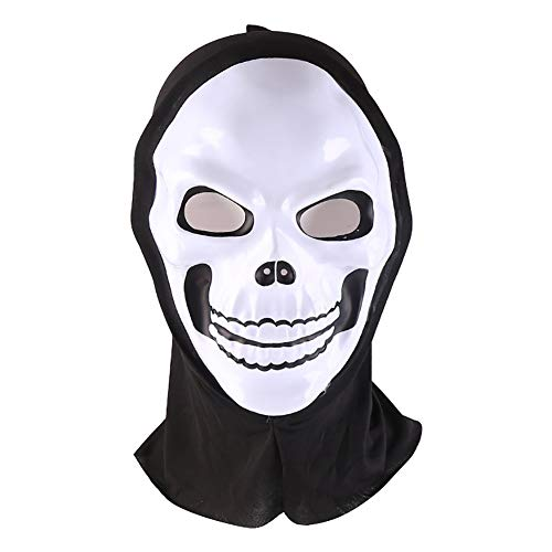 Forart Ghost Face Mask Full Face Ghost Hoods Balaclava Costume Headwear Tactical Hood for Cosplay Party Halloween Cycling Skiing Hunting ()