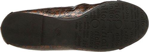 Rialto Metallic Bronze 'Sunnyside Women's print Flat ' E ZrPq4Z