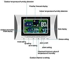 Configuración automática Reloj digital digital Estación ...