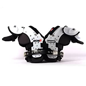 Football shoulder pads VISION II barnett, size S, black