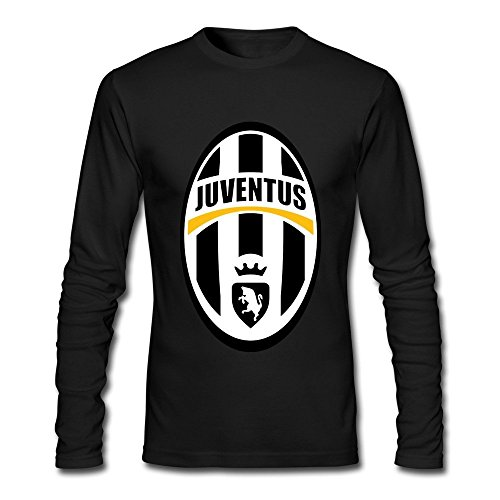 male-juventus-custom-long-sleeve-t-shirt-black-l-by-rahk