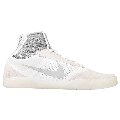 Nike SB Hyperfeel Koston 3, Zapatillas de Skateboarding para Hombre Blanco / Gris (Summit White / Wolf Grey-White)