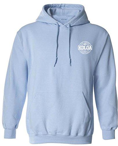 (Koloa Dawn Patrol Logo Hoodie-Hooded Sweatshirt-LightBlue/w-S)
