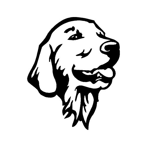 StickerDad GOLDEN RETRIEVER HEAD OL Vinyl Decal - size: 5
