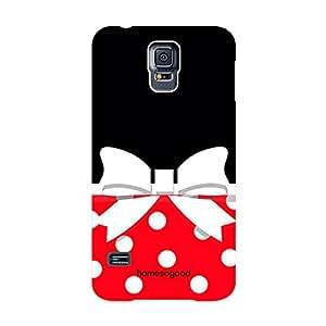 HomeSoGood Classic Girlie Fashion Multicolor 3D Mobile Case For Samsung S5 (Back Cover)