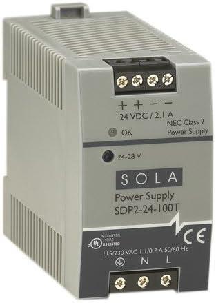 Sola/Hevi-Duty SDP2-24-100T DC Power Supply 24-28 VDC 2.1 Amp 43-67 Hz [並行輸入品]