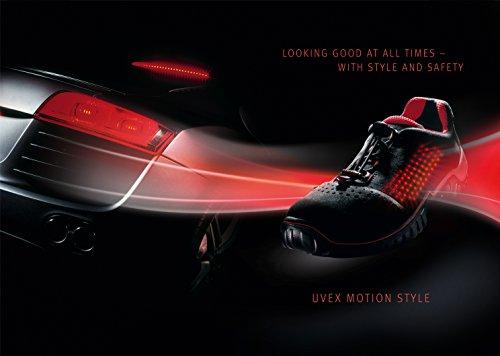 Uvex motion style Sicherheitsschuh 6998.8 S1 SRC 46 Schwarz