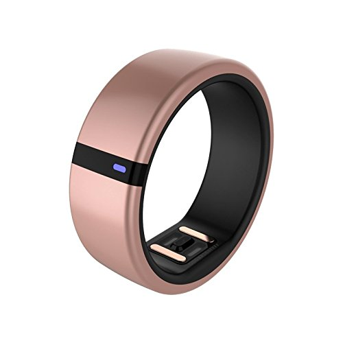 Motiv Ring Fitness, Sleep and Heart Rate Tracker for iPhone and iOS - Waterproof Activity and HR Monitor - Calorie and Step Counter - (Heart Rate Monitor Ring)