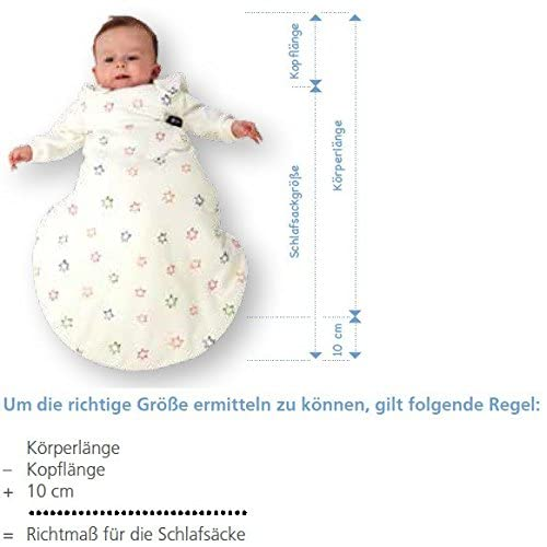 ALVI Baby Mäxchen Gigoteuse légère manches longues blanc taille 68
