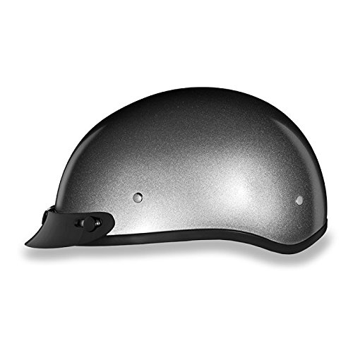torcycle Half Helmet with Visor (Size 4XL, 4X-Large) (Metallic Dot Helmets Motorcycle)