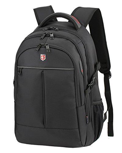 True Black Laptop Backpacks - 2