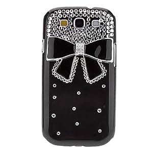 GDW Teléfono Móvil Samsung - Cobertor Posterior - Superficie de Cristal/Cráneos Chéveres/Diseño Especial/Transparente - para Samsung S3 I9300 (