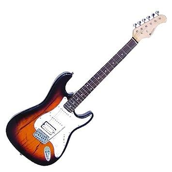 Dimavery 26211230 ST-312 SunBurst E-Gitarre: Amazon.de: Musikinstrumente