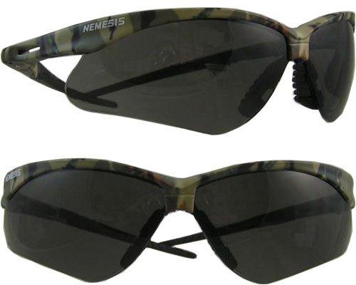 Safety Brand Nemesis Safety Glasses Lens Color: Smoke Anti-Fog Lens, Size: 1.695