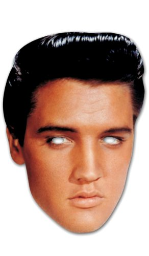 "Mask-Arade High Quality Cardboard Party-Mask ""Elvis"""