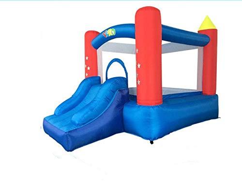 インフレータブル屋内トランポリンオックスフォード布インフレータブル子供の遊び場子供向けゲームいたずら城スライド B07QGB2JXD