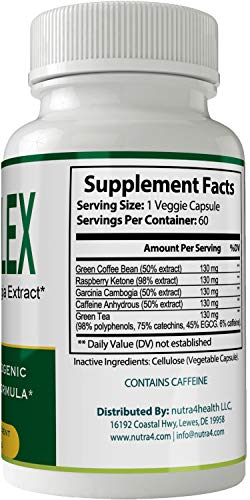 Keto Flex Weight Loss Pills Diet Capsules with Garcinia Cambogia, Weightloss Lean Fat Burner, Advanced Thermal Fat Loss Supplement for Women and Men by nutra4health LLC (Image #1)