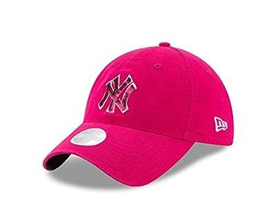 New York Yankees New Era Women's Mother's Day Team Glimmer 9TWENTY Adjust Hat