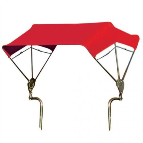 All States Ag Parts SNOWCO 3-Bow Tractor Canopy with Frame Fender Mount 40