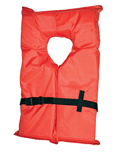 Airhead Type II Keyhole Adult Life Vest Orange (Rescue Life Vest)