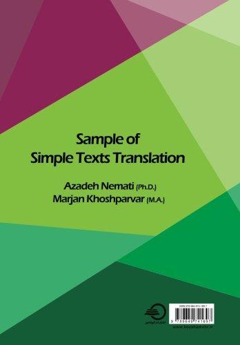 sample of simple text translation
