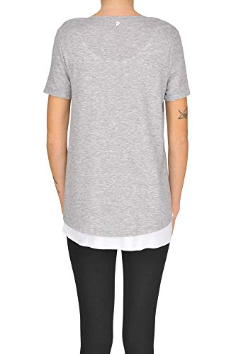Dondup T shirt Algodon Gris Mujer Mcgltps000005021e qqwBYa