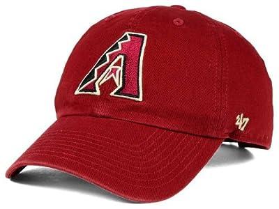 MLB Arizona Diamondbacks Clean Up Adjustable Hat, Razor Red, One Size