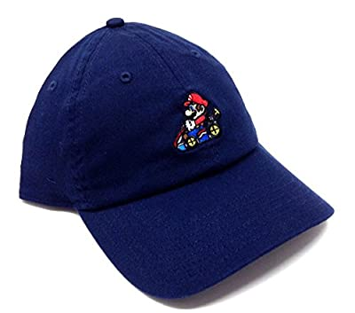 Mario Kart Nintendo Embroidered Logo Adjustable Dad Hat