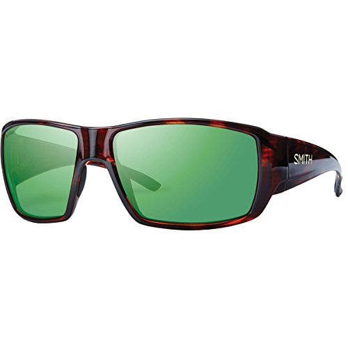 Smith Optics Guides Choice Sunglasses, Havana Frame, Polar Green Mirror Techlite Glass Lenses (Havana Sunglasses Smiths)