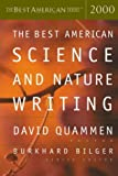 The Best American Science and Nature Writing 2000, David Quammen and Burkhard Bilger, 0618082948