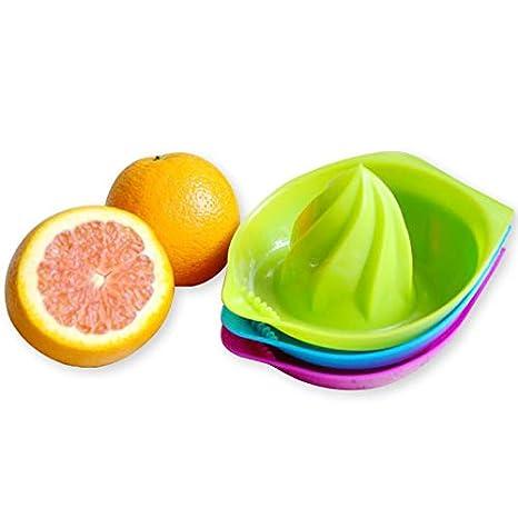 Idea JK125 - Exprimidor manual de zumos (plástico), color naranja: Amazon.es: Hogar